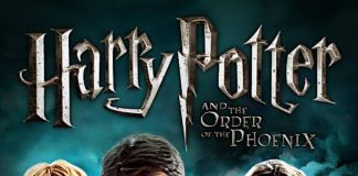 Harry Potter and The Order of the Phoenix Audiobook cover