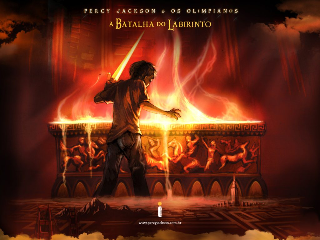 Percy Jackson and The Battle of the Labyrinth Audiobook by Rick Riordan