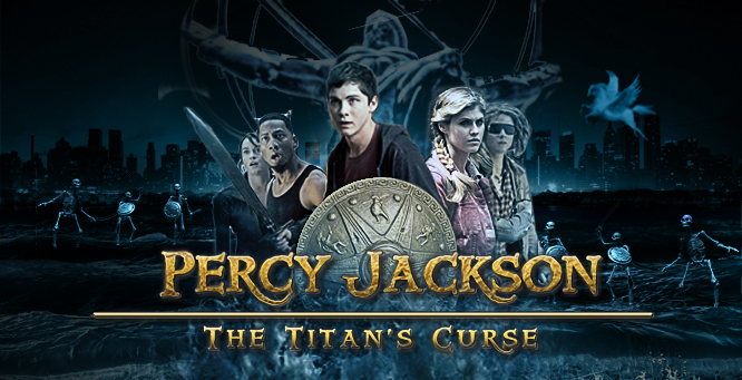 Percy Jackson and The Titan's Curse Audiobook by Rich Riordan