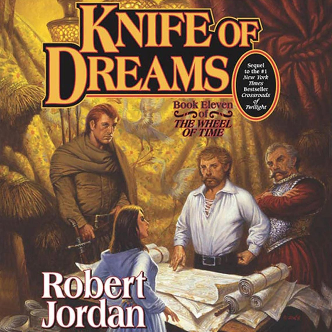 Knife of Dreams Audiobook Free Download